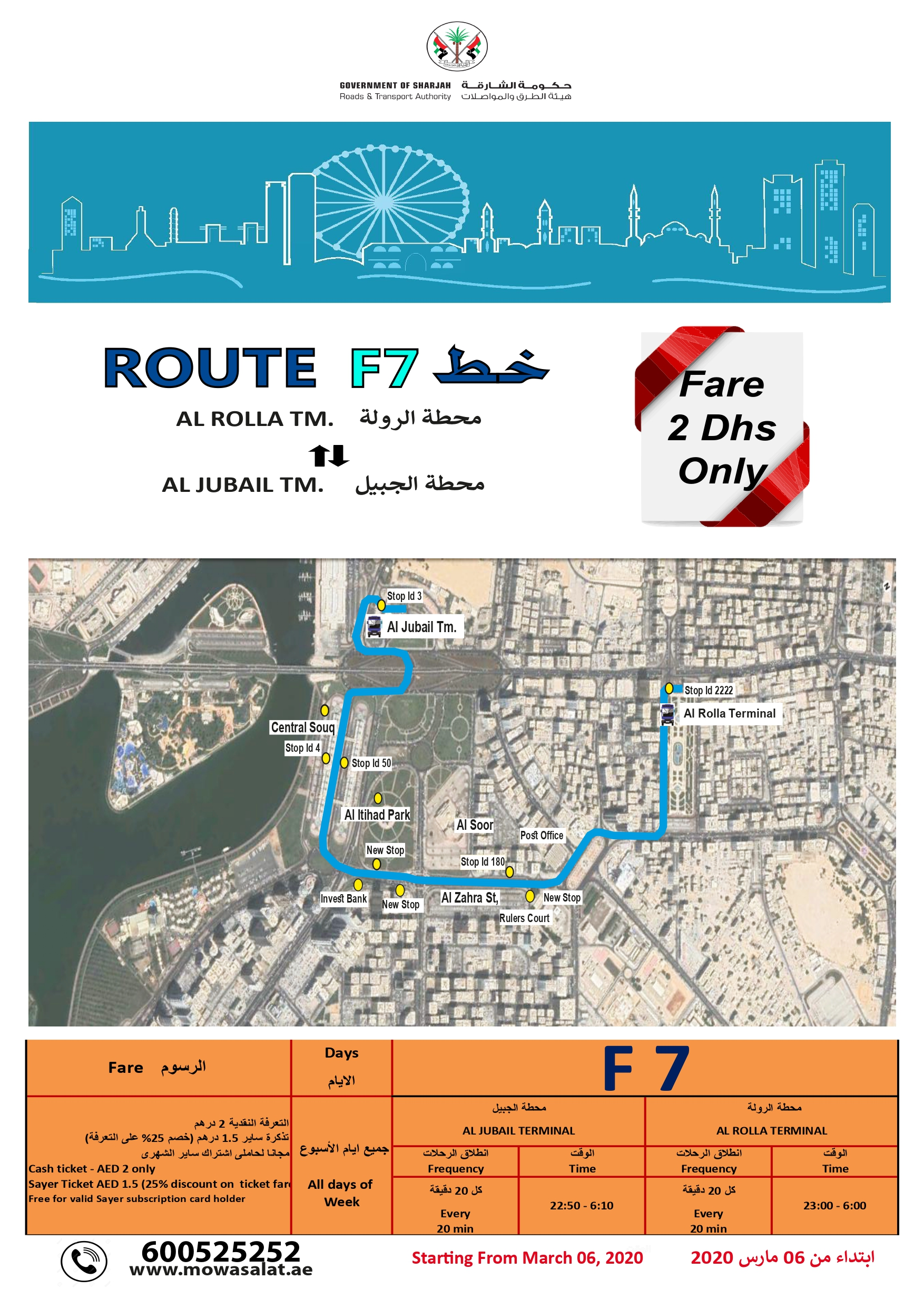 Route F7